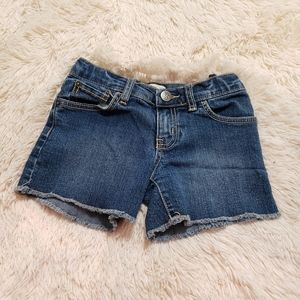 Children's place 6x/7 jean shorts